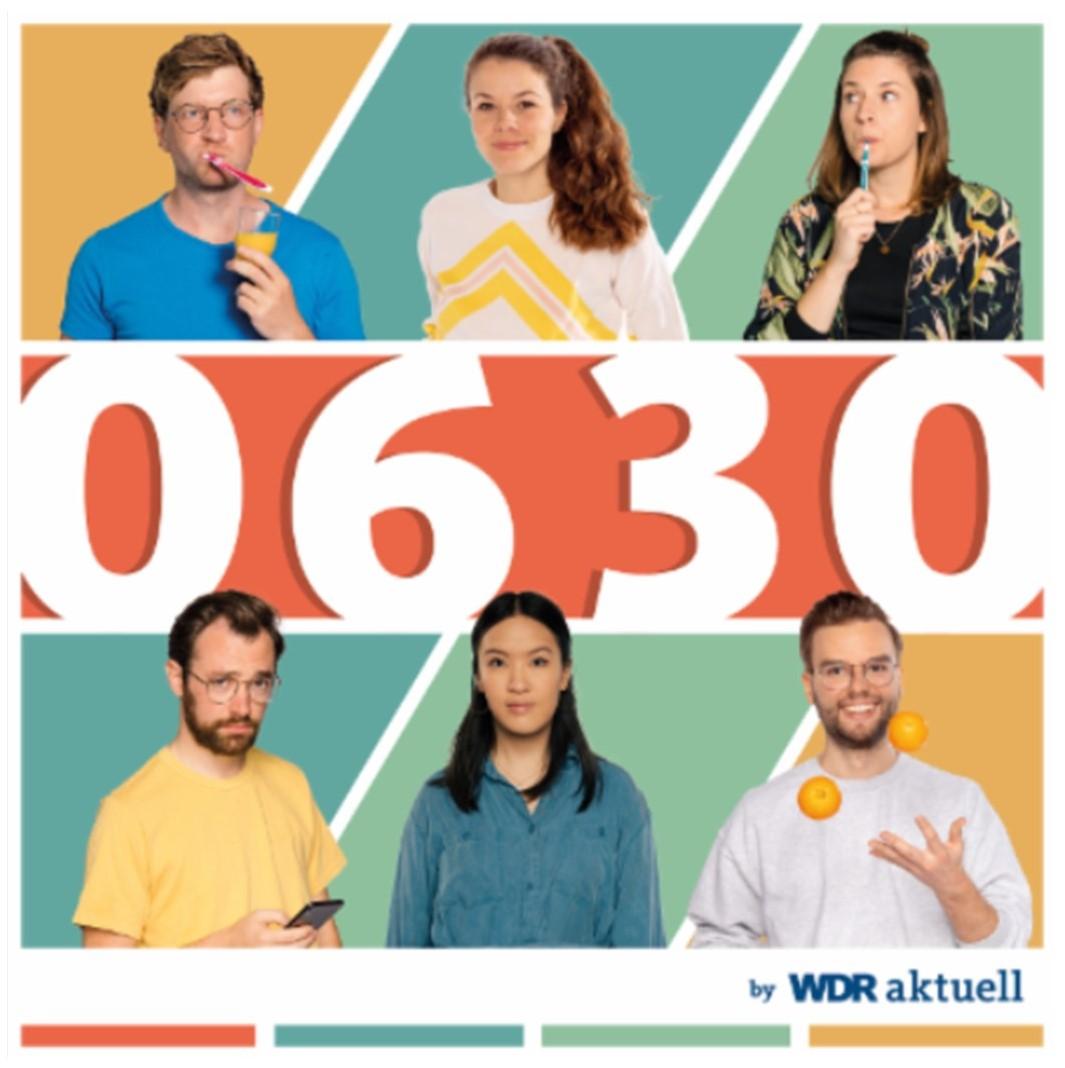 Grafik: 0630 by WDR aktuell - der Morgen-Podcast